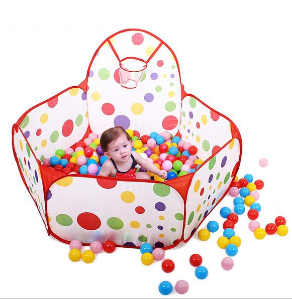 Ball Pit Play Tent with Basketball Hoop  sc 1 st  Momentures : ball pit tent - memphite.com