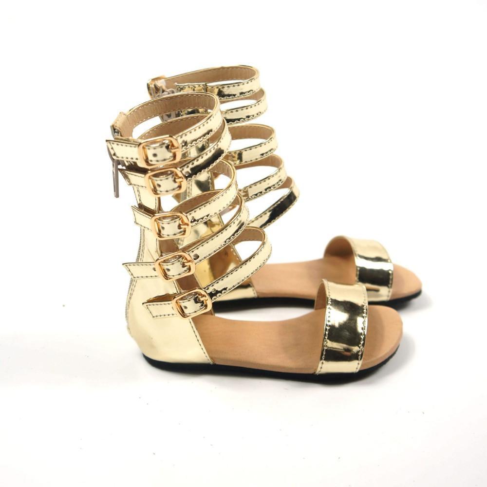 baby girl tan sandals