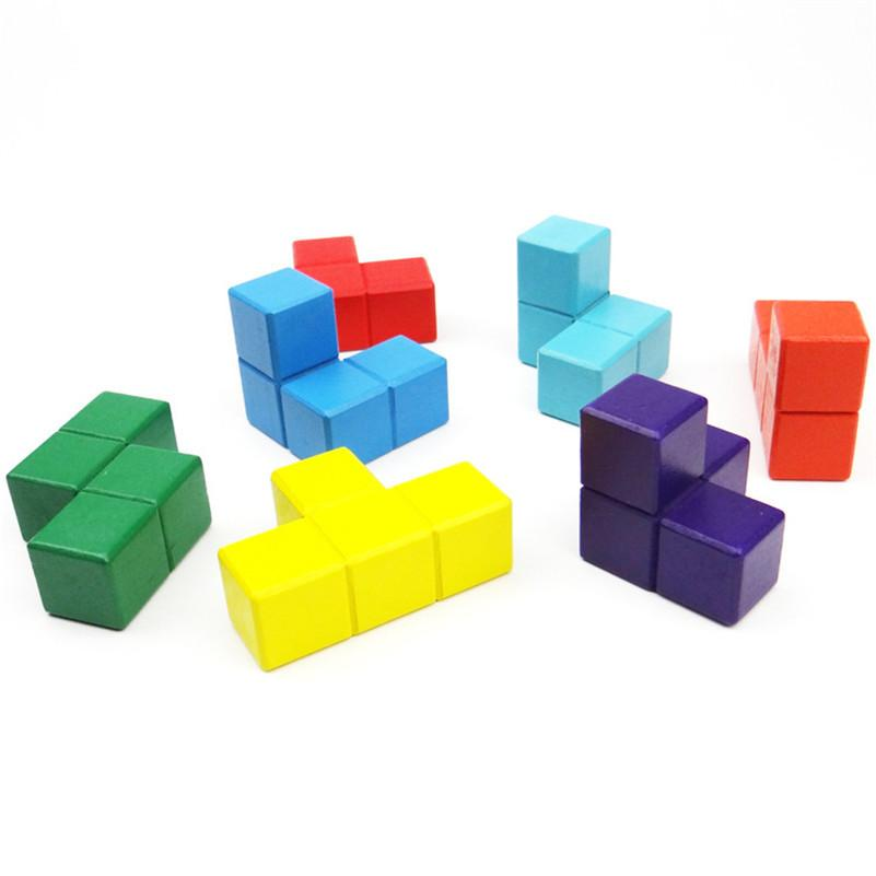 multi color wooden 3d tetris cubes momentures. Black Bedroom Furniture Sets. Home Design Ideas
